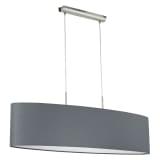 Lustră candelabru de plafon EGLO Pasteri 31586, gri