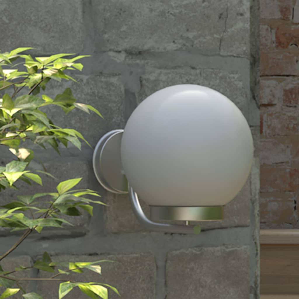 vidaXL-Lampioncino-da-esterno-Lampada-Applique-a-Muro-Luce-da-Giardino-H25-cm