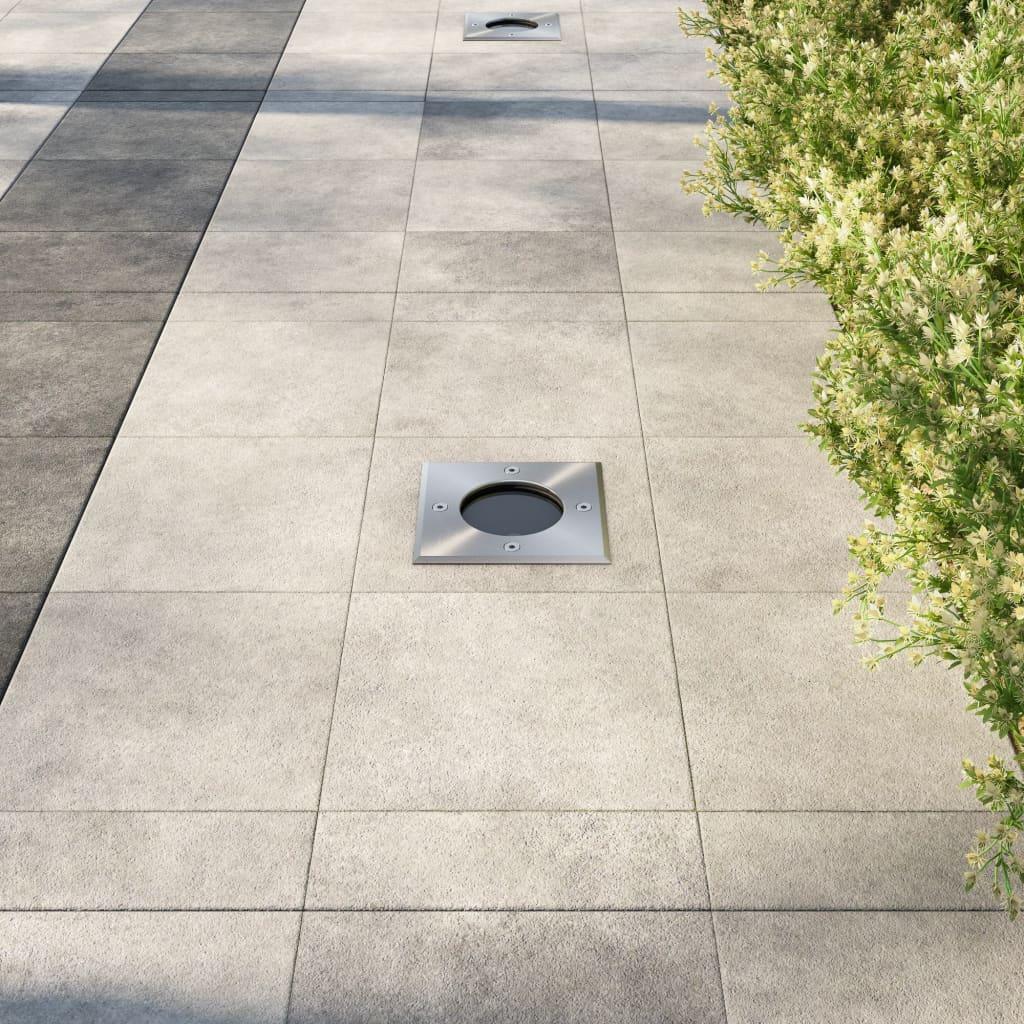 3 focos empotrables cuadrados para exterior tienda online for Focos empotrables exterior