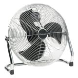 Bestron Ventilator de podea, 45 cm, 100 W DFA40, Crom
