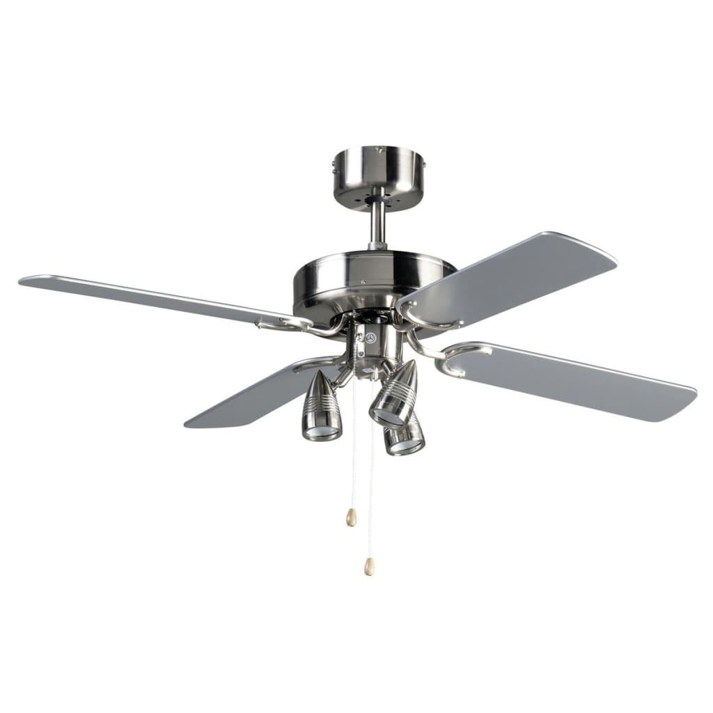 acheter ventilateur de plafond 107 cm 42 50 w bestron dnhd42 gris argent pas cher. Black Bedroom Furniture Sets. Home Design Ideas