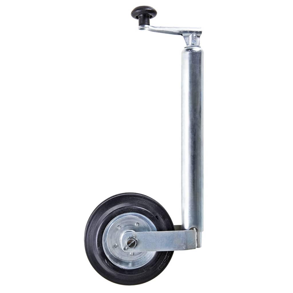acheter roue jockey avec jante en m tal et pneu en caoutchouc solide 20 x 5 cm pas cher. Black Bedroom Furniture Sets. Home Design Ideas