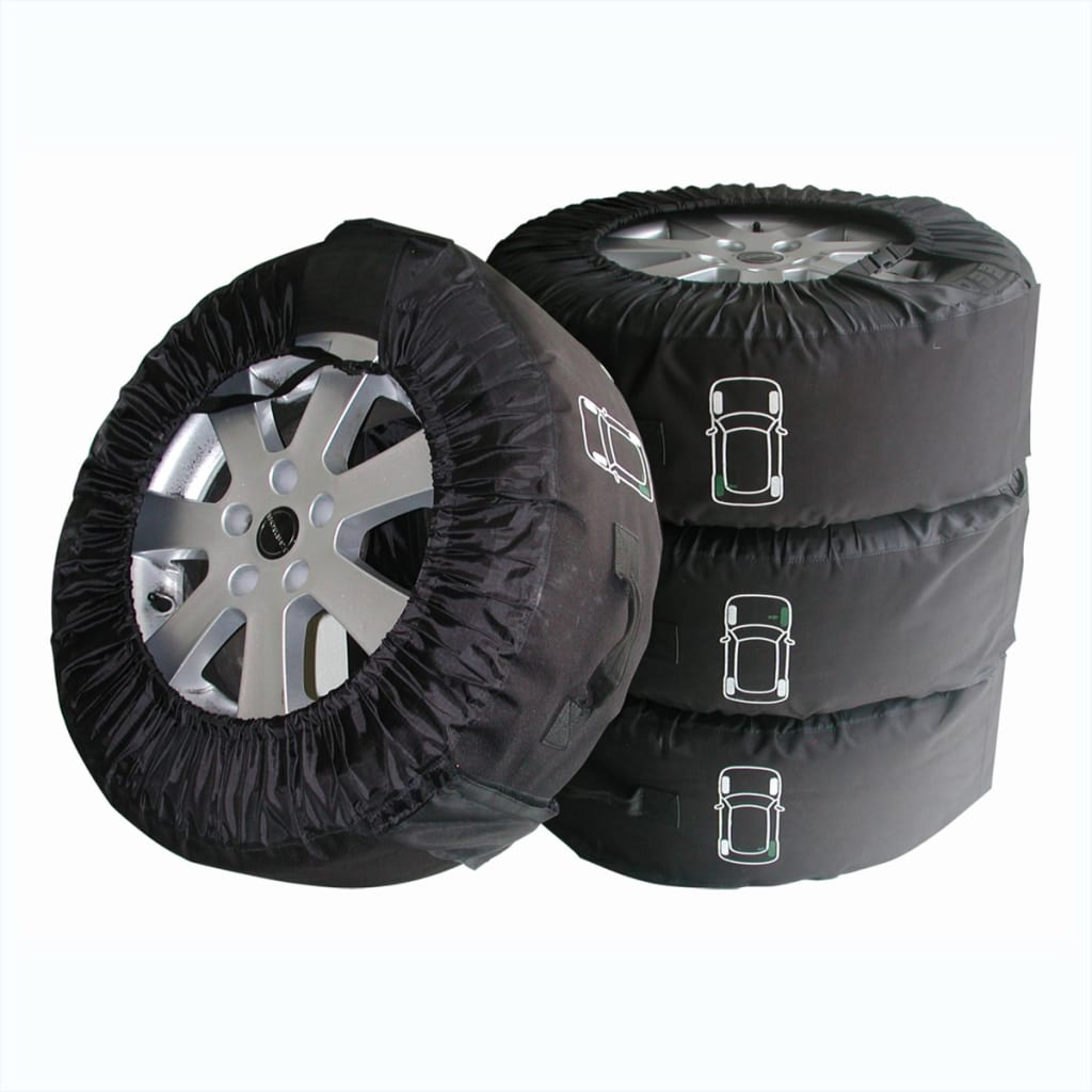 proplus kit de 4 housses de pneus avec poign e profi housses de roue de secours eur 30 99. Black Bedroom Furniture Sets. Home Design Ideas
