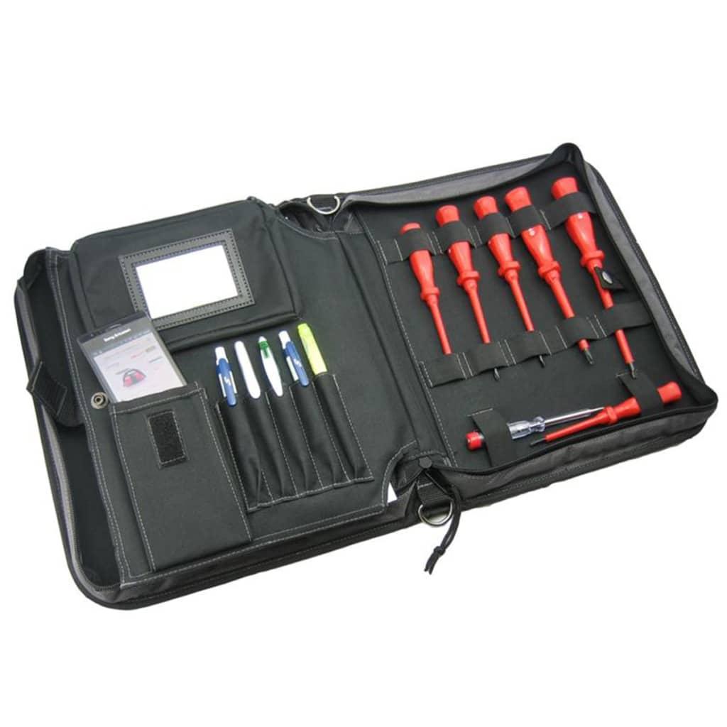 toolpack portfoliotas voor klein gereedschap en tablet 360. Black Bedroom Furniture Sets. Home Design Ideas