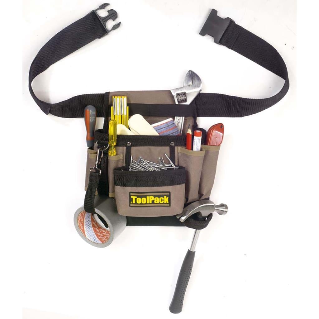 Toolpack Classic verktygsbälte med en ficka 360.054