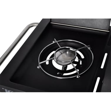 edelstahl gasgrill grill grillwagen barbecue bbq 6 1 mit tem im vidaxl trendshop. Black Bedroom Furniture Sets. Home Design Ideas