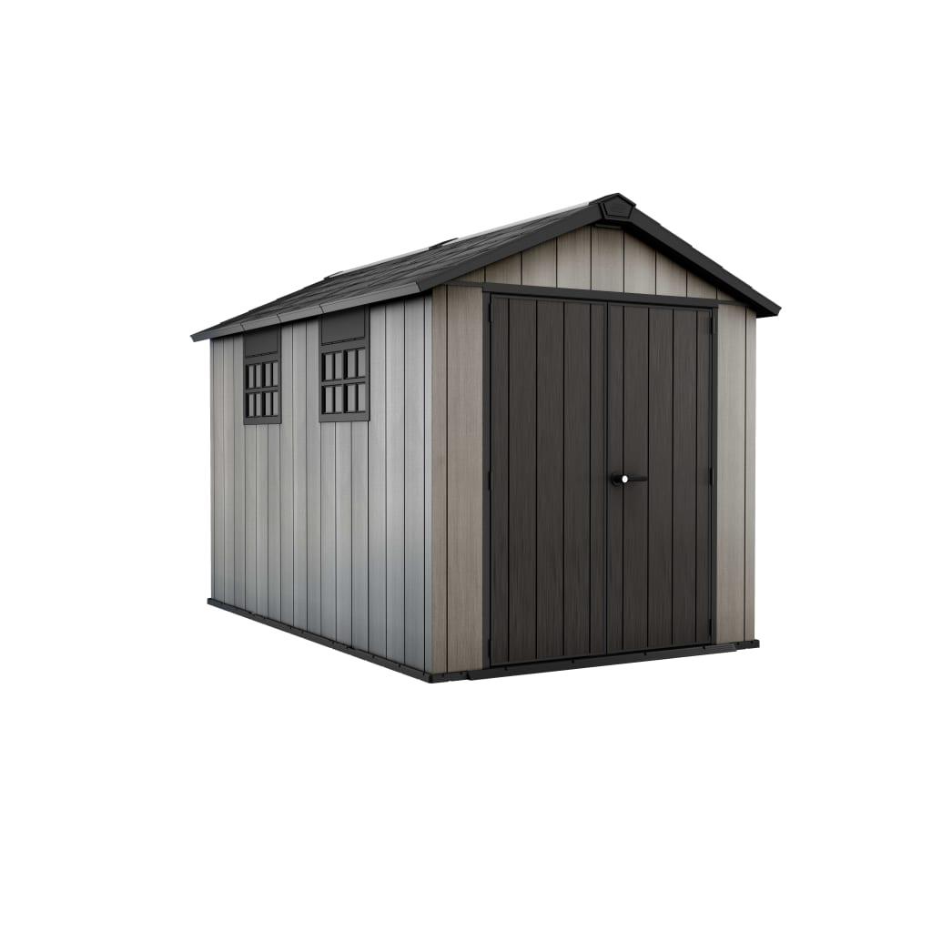 La boutique en ligne abri de jardin oakland 7511 keter 17201421 - Abri de jardin solde ...