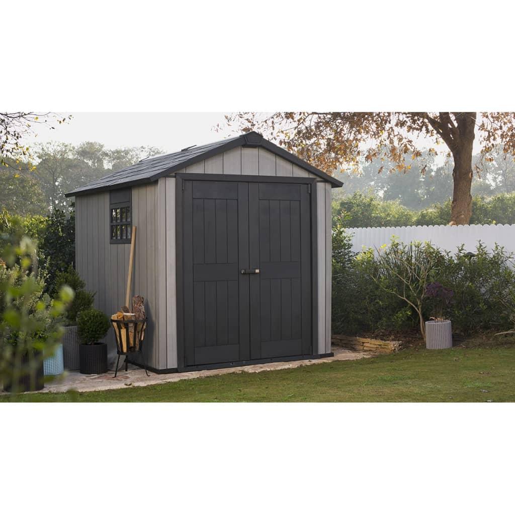keter storage shed oakland 759 17201311. Black Bedroom Furniture Sets. Home Design Ideas