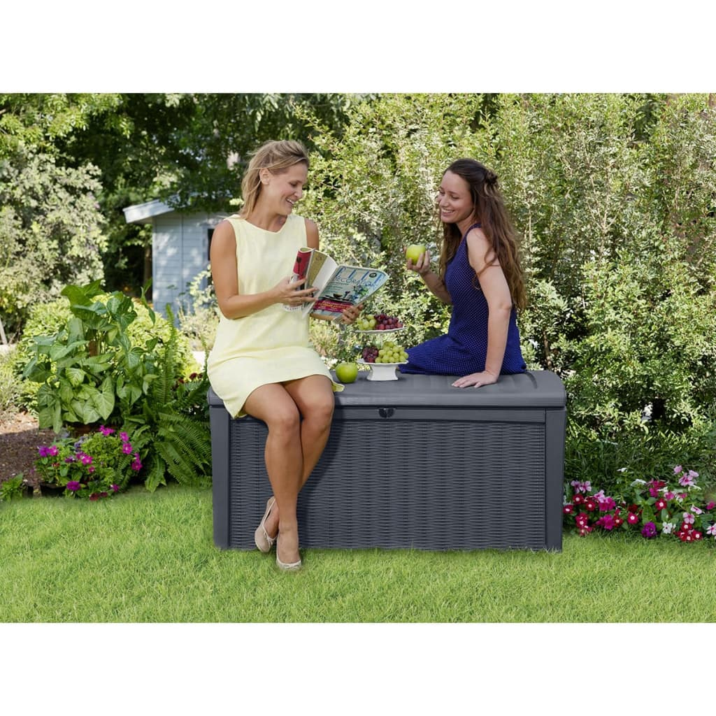 acheter coffre de jardin borneo keter 17197731 pas cher. Black Bedroom Furniture Sets. Home Design Ideas