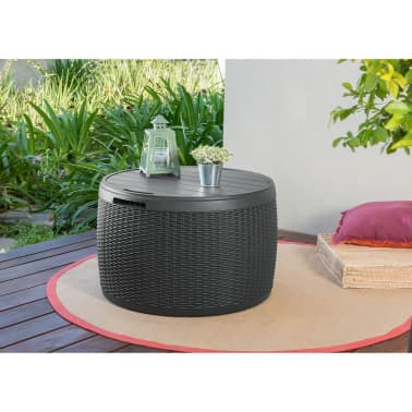 keter aufbewahrungsbox circa polyrattan 227487 im vidaxl. Black Bedroom Furniture Sets. Home Design Ideas