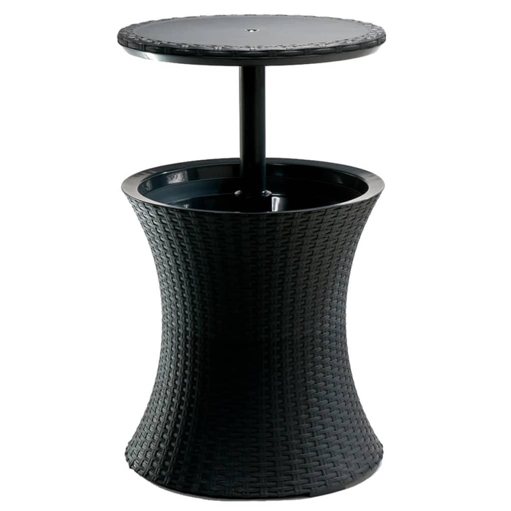 keter pacific cool bar antracite 203835. Black Bedroom Furniture Sets. Home Design Ideas