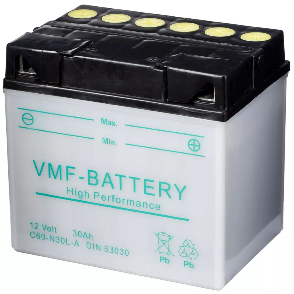 vmf powersport battery 12 v 30 ah c60 n30l a. Black Bedroom Furniture Sets. Home Design Ideas