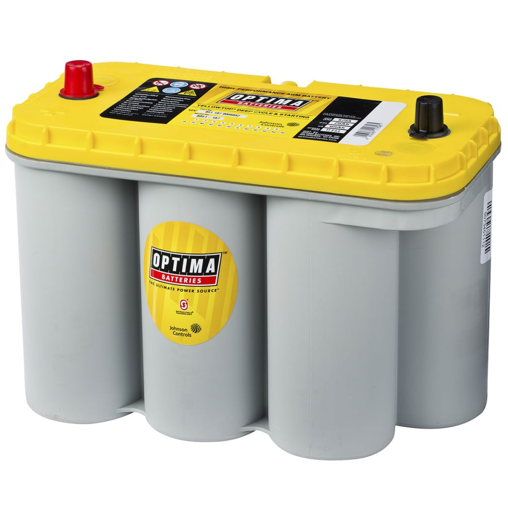 Vidaxl Co Uk Optima Battery Yellow Top 12 V 75 Ah Yt S 5 5
