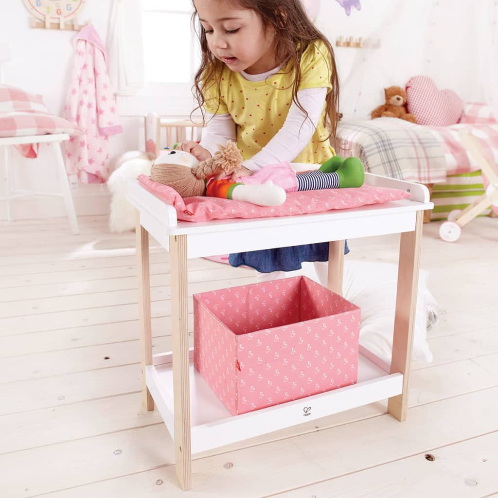 La boutique en ligne table langer pour poup e hape e3602 for Table a langer en solde