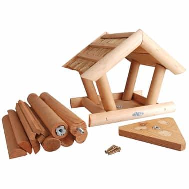 acheter mangeoire pour oiseaux avec toit en chaume. Black Bedroom Furniture Sets. Home Design Ideas