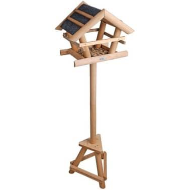 acheter mangeoire pour oiseaux avec toit bitum esschert design fb255 pas cher. Black Bedroom Furniture Sets. Home Design Ideas