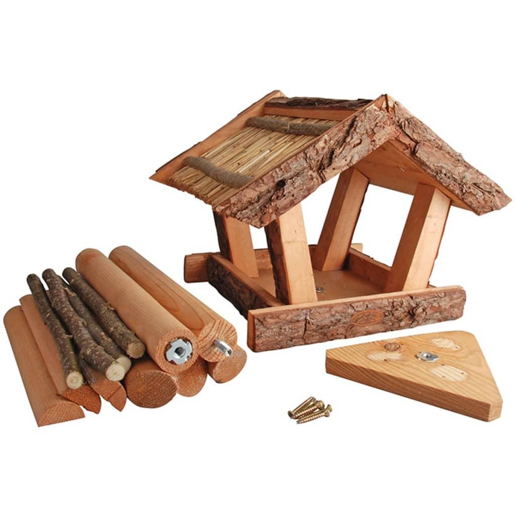 acheter mangeoire oiseaux avec corces en bo te cadeau esschert design fb256 pas cher. Black Bedroom Furniture Sets. Home Design Ideas