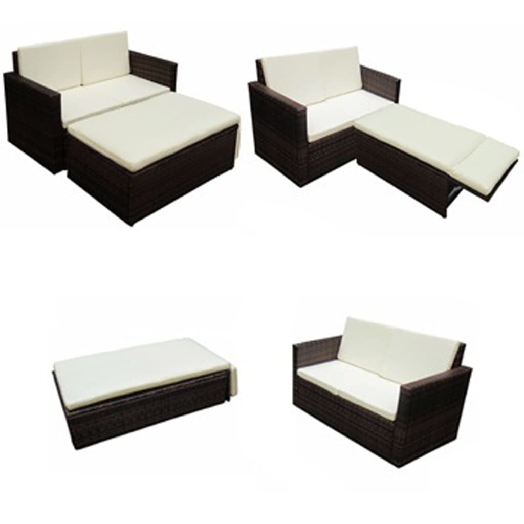 vida-xl-poly-rattan-garden-set-with-brown-light-beige-pillow