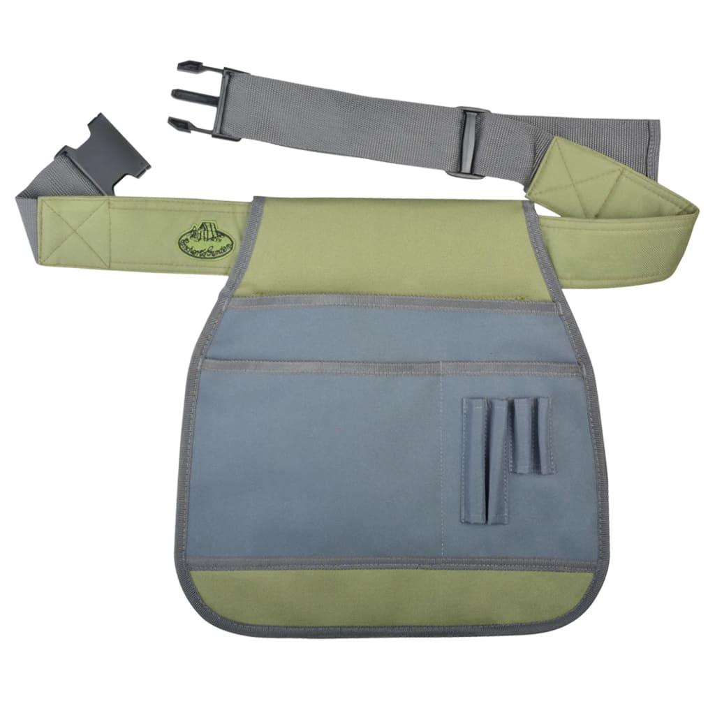 Esschert Design Verktygsbälte för trädgård grå GT87