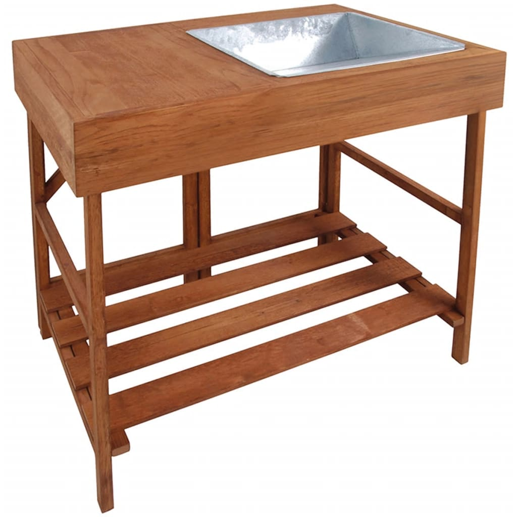 Esschert Design GT35 keményfa ültető asztal