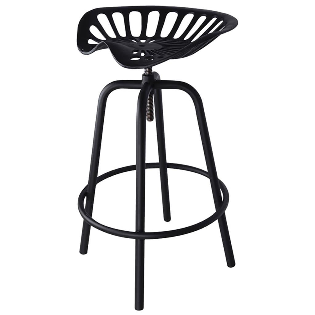 la boutique en ligne tabouret noir avec design si ge de. Black Bedroom Furniture Sets. Home Design Ideas