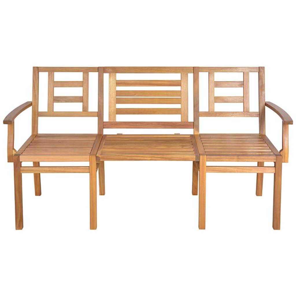 Banco convertible de jard n de madera esschert design - Banco madera jardin ...