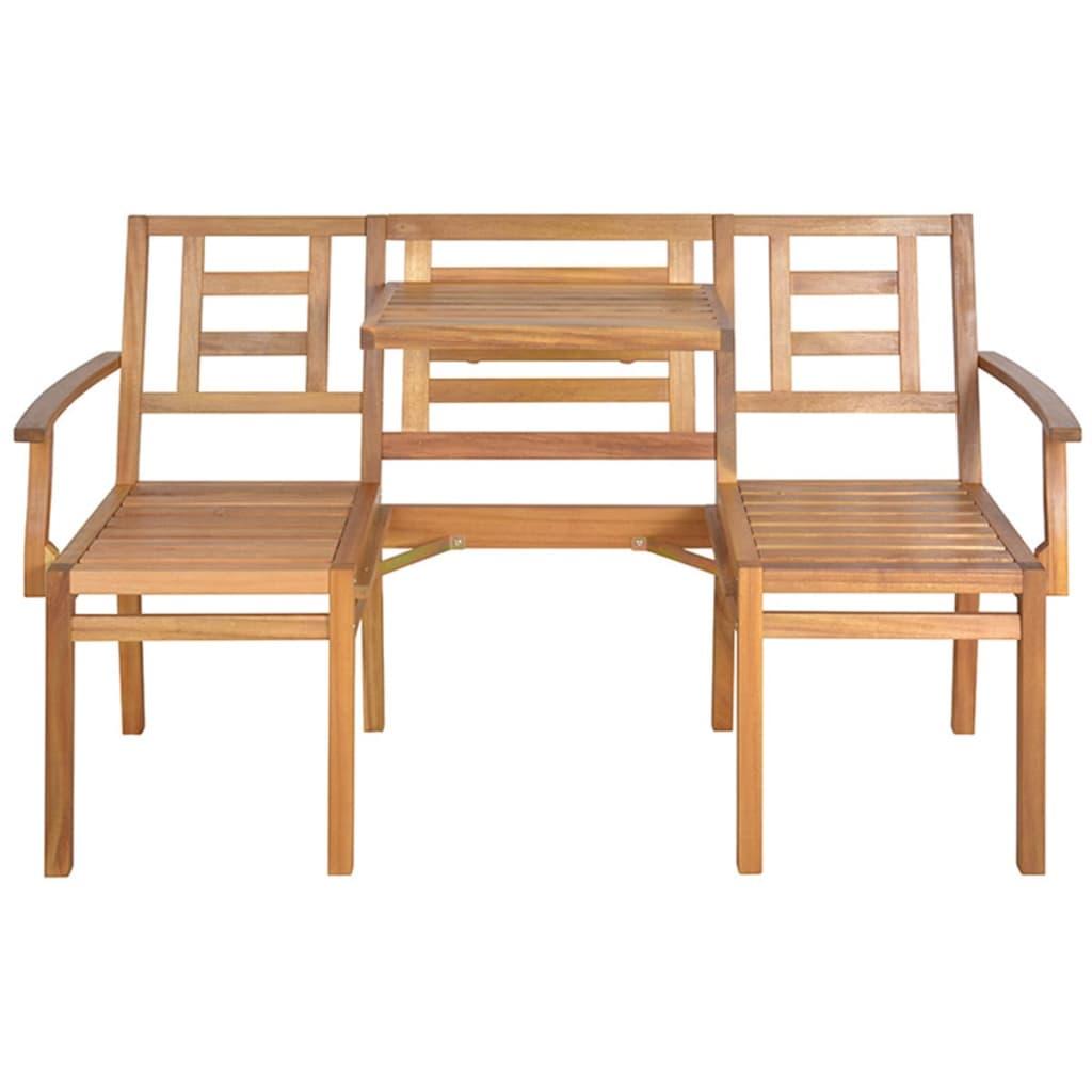 Banco convertible de jard n de madera esschert design for Banco madera jardin carrefour