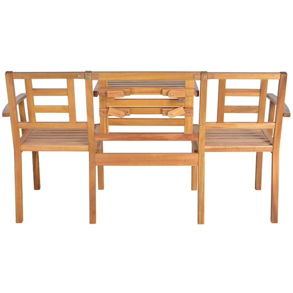 la boutique en ligne banc convertible en bois esschert. Black Bedroom Furniture Sets. Home Design Ideas
