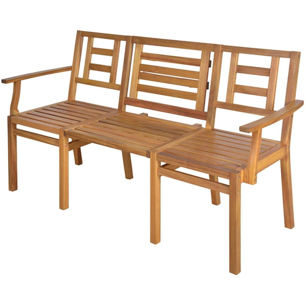 Banco convertible de jard n de madera esschert design for Bancos de jardin usados
