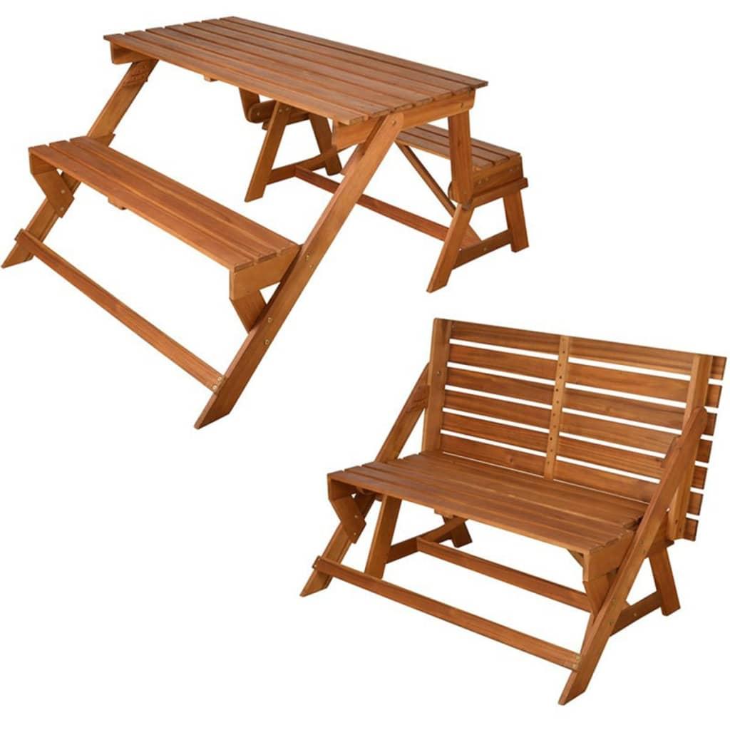 Afbeelding van Esschert Design converteerbare bank/picknicktafel BL059