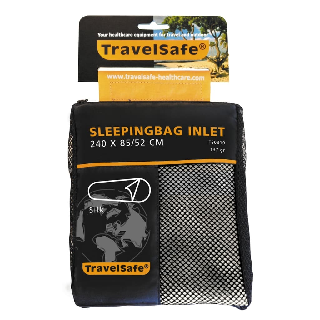 Travelsafe Soveposelaken i mumieform silke TS0310