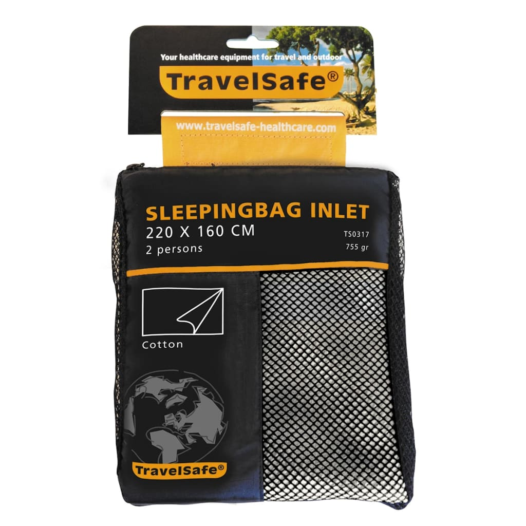 travelsafe-sleeping-bag-inlet-envelope-2-pers-cotton-ts0317