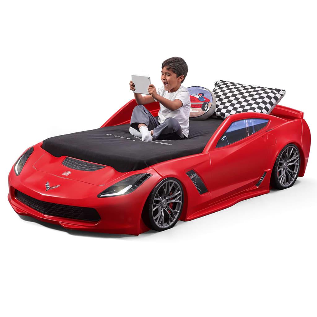 Step2 Łóżko dla dziecka w kształcie samochodu Corvette