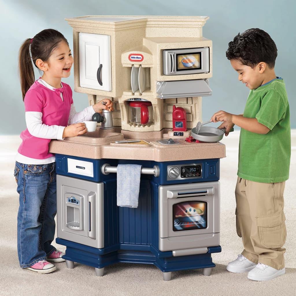 LITTLE TIKES SUPER Chef Kinderküche Spielküche Spielzeug Küche ...