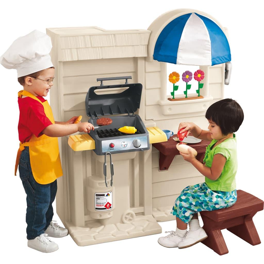 acheter cuisine pour enfant cook grill little tikes 589300 pas cher. Black Bedroom Furniture Sets. Home Design Ideas