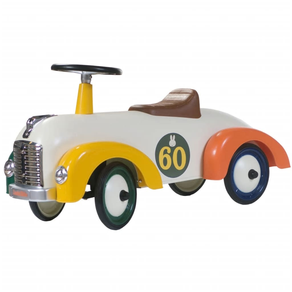 """Van der Meulen Der Miffy Retro Ride-on Car 60 Year Anniversery Metal 0706124"""