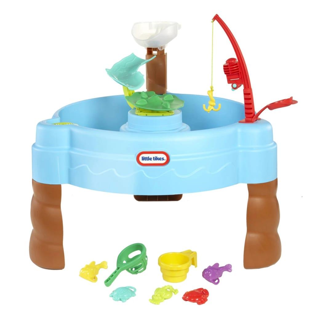 Der little tikes wasser fischteich tisch set 637803 online for Fischteich wasser reinigen