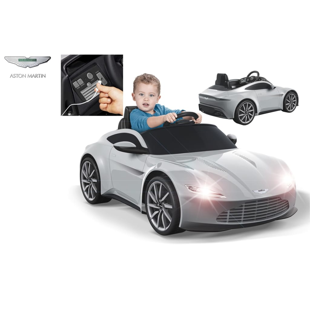 der feber elektrisches kinderauto aston martin 6 v online. Black Bedroom Furniture Sets. Home Design Ideas
