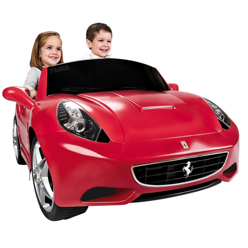 acheter voiture lectrique pour enfant 12 v feber ferrari california pas cher. Black Bedroom Furniture Sets. Home Design Ideas