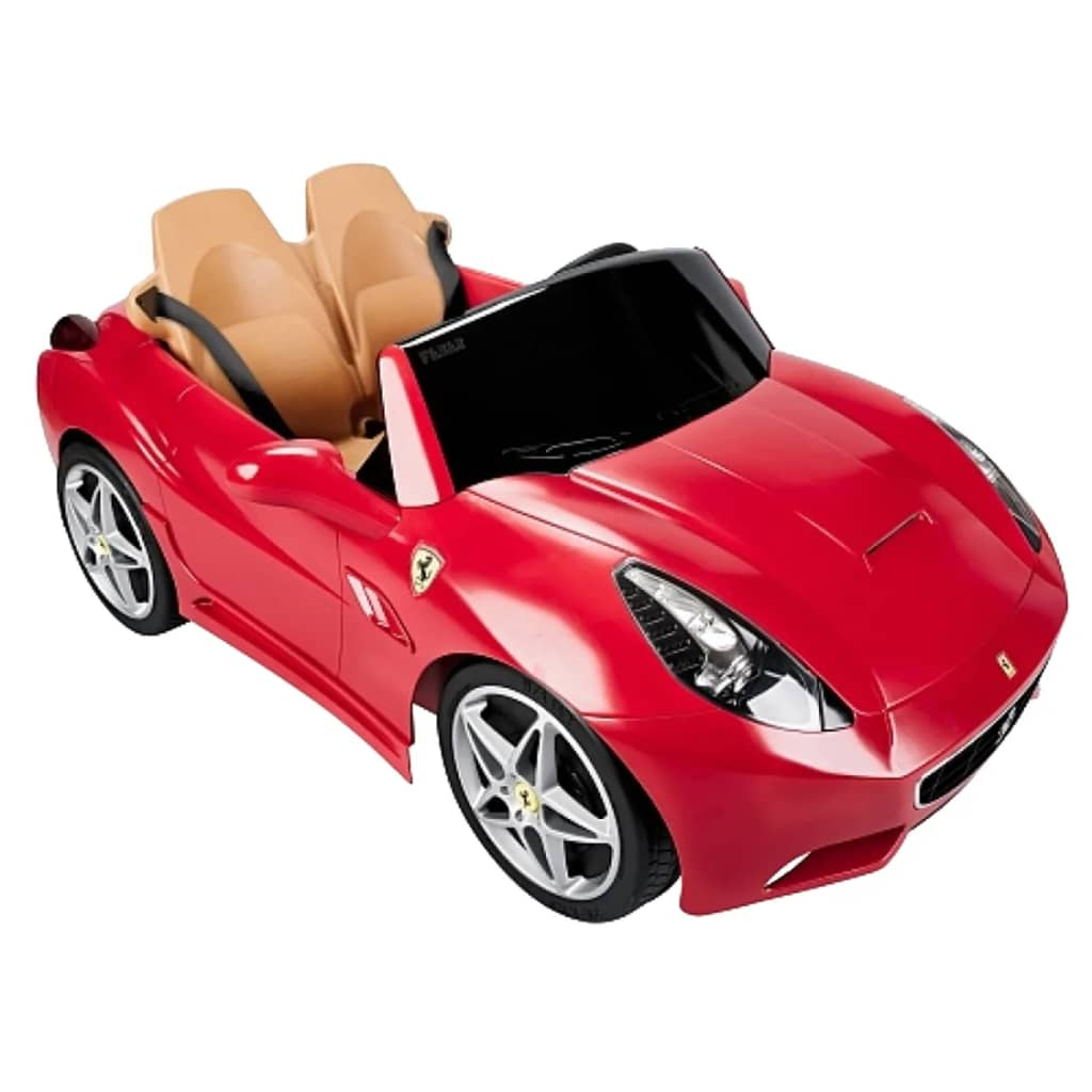 """Feber Electric Ride-on Car Ferrari California 12 V"""