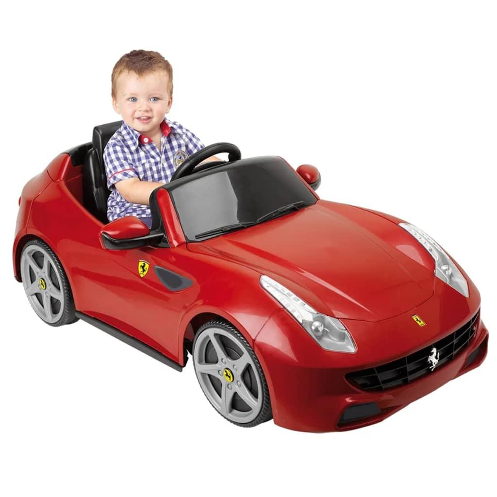 Feber-Auto-Macchina-Gioco-Bimbo-Bambino-cavalcabile-elettrica-Ferrari-FF-6-V