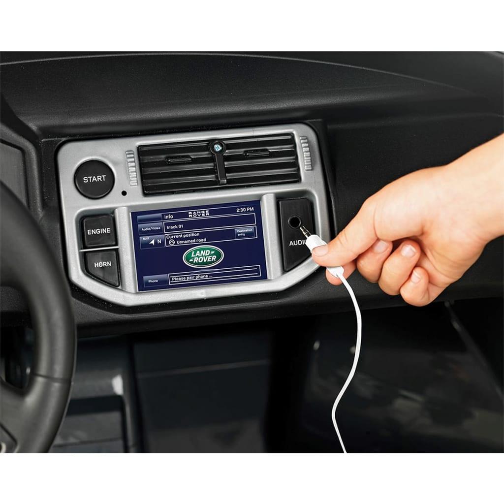 Voiture électrique pour enfant enfant enfant filles garçons 12 V Feber Range Rover Sport gris e13021