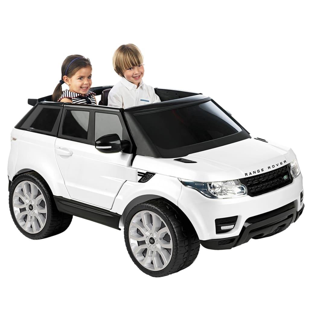 acheter voiture lectrique pour enfant 12 v feber range rover sport blanc pas cher. Black Bedroom Furniture Sets. Home Design Ideas
