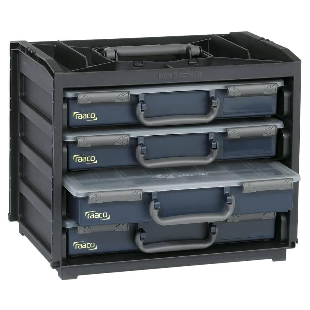 acheter casier de rangement avec mallettes assorter 55x4. Black Bedroom Furniture Sets. Home Design Ideas