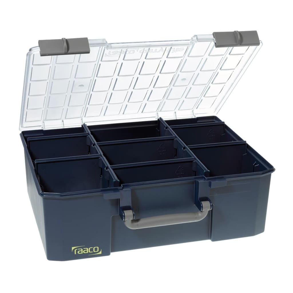la boutique en ligne mallette de rangement avec 8 s parateurs carrylite 150 9 raaco 136341. Black Bedroom Furniture Sets. Home Design Ideas