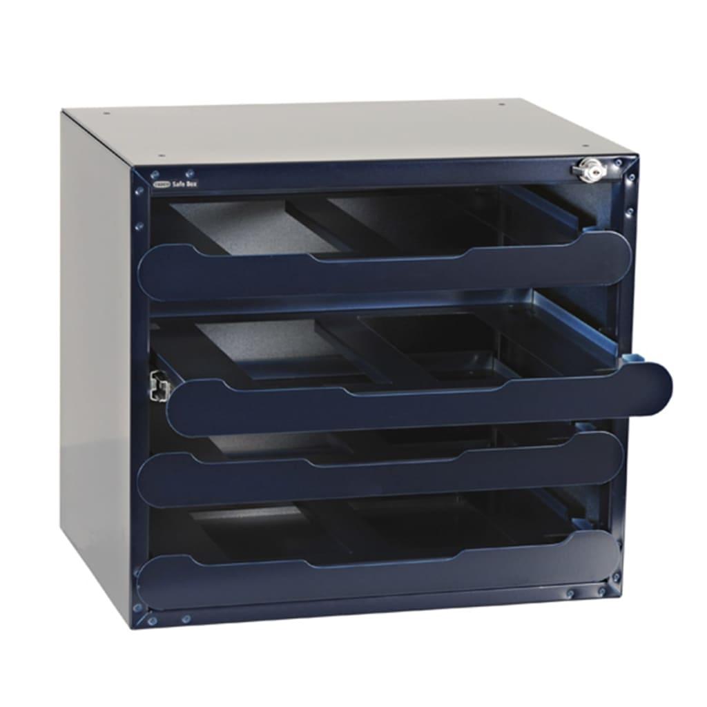 raaco safe box tresor f r 4 carrylite 55 sortimentskoffer leer 139328 g nstig kaufen. Black Bedroom Furniture Sets. Home Design Ideas