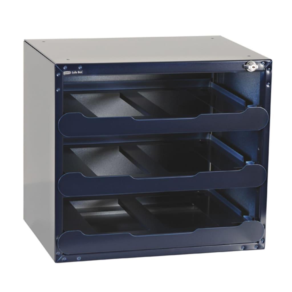 raaco safe box tresor f r 3 carrylite 80 sortimentskoffer leer 139335 g nstig kaufen. Black Bedroom Furniture Sets. Home Design Ideas