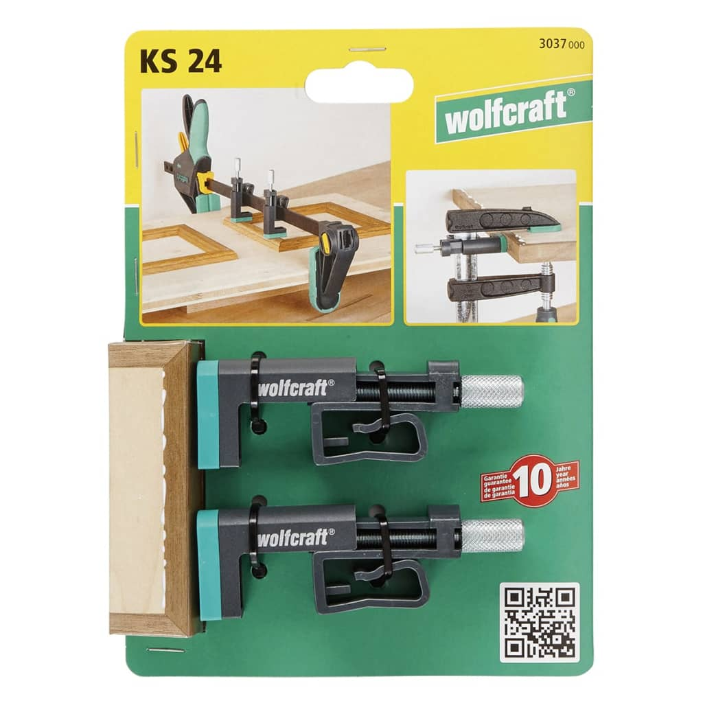 wolfcraft kantenspanner ks 24 2 st ck 3037000 g nstig kaufen. Black Bedroom Furniture Sets. Home Design Ideas
