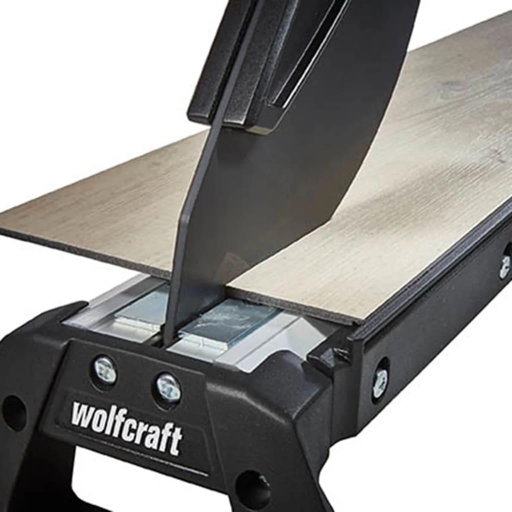 wolfcraft taglierina per laminato e vinile vlc 800 6939000. Black Bedroom Furniture Sets. Home Design Ideas