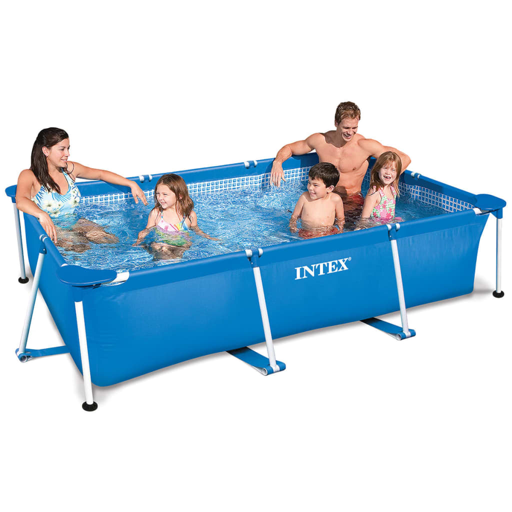 intex family frame pool 300 x 200 x 75 cm 28272np. Black Bedroom Furniture Sets. Home Design Ideas